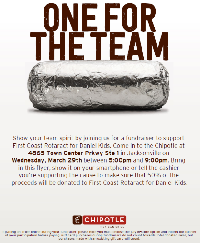 17 Chipotle Flyer